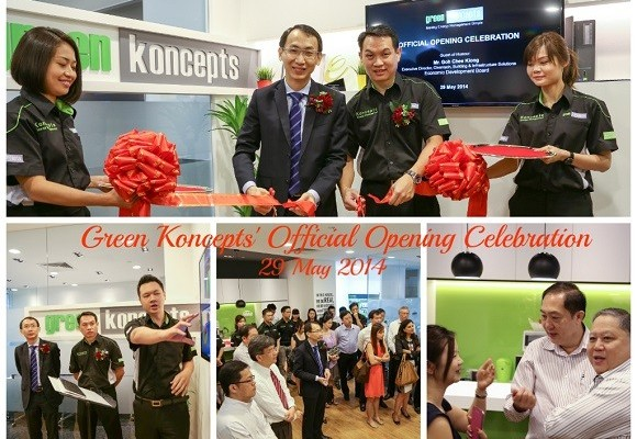 Celebration of Green Koncepts' New Office Opening