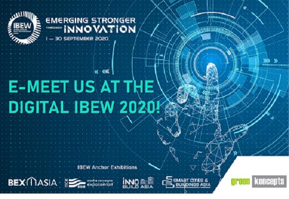 Visit us at Digital IBEW 2020 between 1st to 30th September